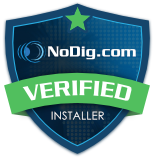 NoDig Verified Installer badge Home