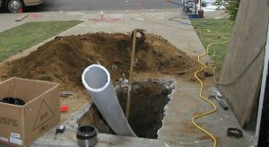 Trenchless Sewer Repair2 300x164 Sewer Pipe Replacement Oklahoma City, OK